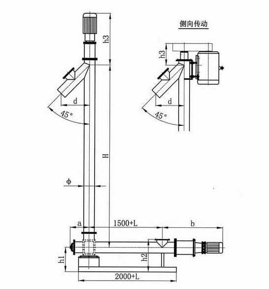 垂直螺旋输送机的使用与维护